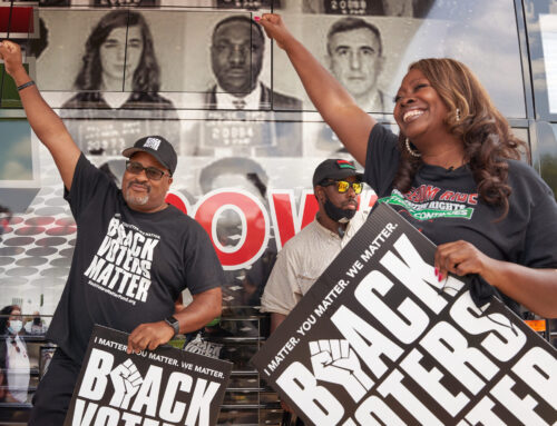 Black Voters Matter Co-Founder LaTosha Brown Issues Statement Following White House Meeting With V.P. Kamala Harris