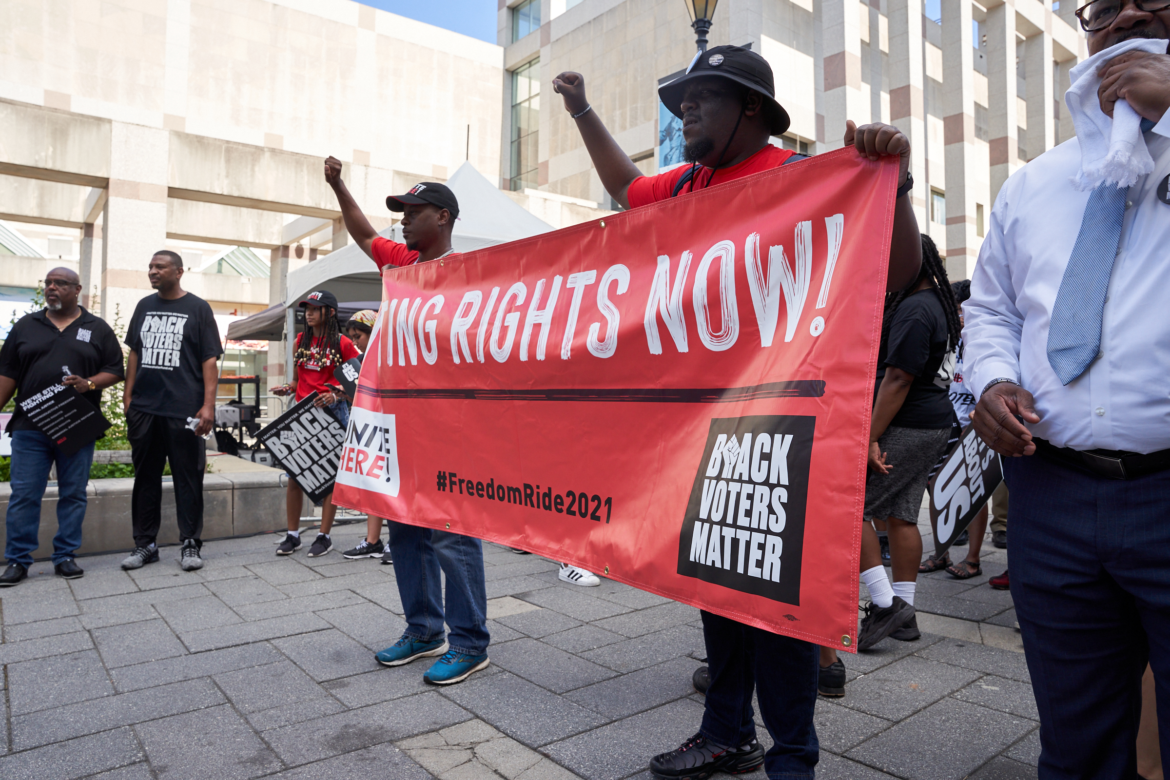 Black Voters Matter: DOJ Lawsuit Against G.A. For Voter Suppression Law Is A Historic Move To Protect Voters — The Fight Continues